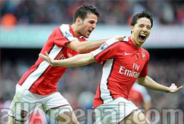 Fabregas free to leave only if Nasri stays