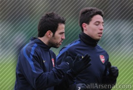 Arsenal Rumours: Fabregas & Nasri named in Champions League squad