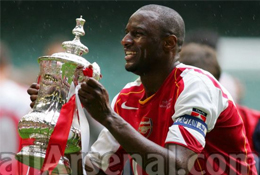 Arsenal legend Vieira retires from playing field