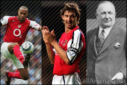 Arsenal News: Henry, Adams and Chapman to be immortalised in bronze