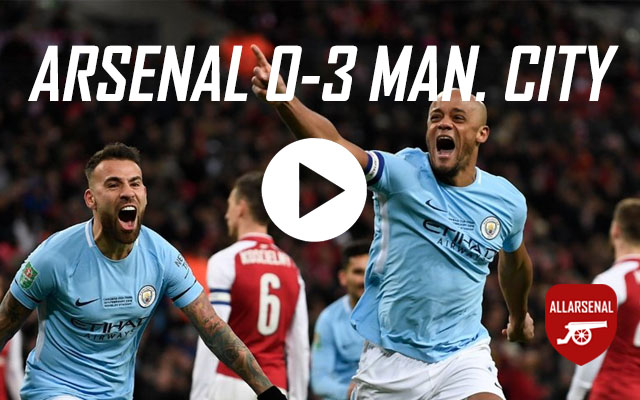 [Match Highlights] Arsenal 0-3 Manchester City – All The Goals & Best Bits