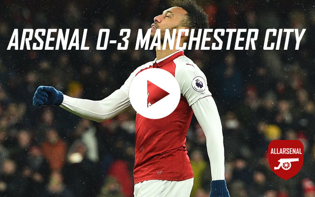 [Match Highlights] Arsenal 0-3 Manchester City – All The Goals And Best Bits