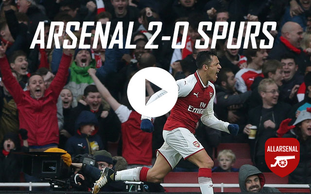 [Match Highlights] Arsenal 2-0 Spurs – All The Goals And Best Bits