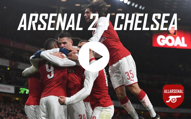 [Match Highlights] Arsenal 2-1 Chelsea – All The Goals And Best Bits