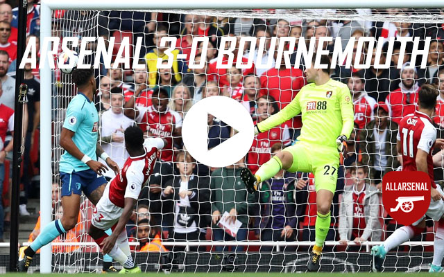 [Match Highlights] Arsenal 3-0 AFC Bournemouth – All The Goals And Best Bits