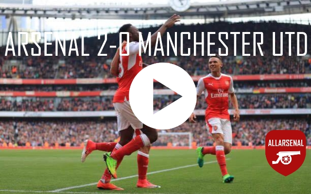 [Match Highlights] Arsenal 2-0 Manchester United – All The Goals And Best Bits