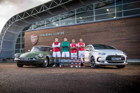 ARSENAL STARS PAY HOMAGE TO 60 YEARS OF DS img4
