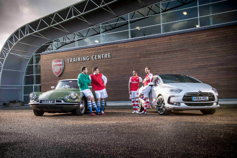 ARSENAL STARS PAY HOMAGE TO 60 YEARS OF DS img6