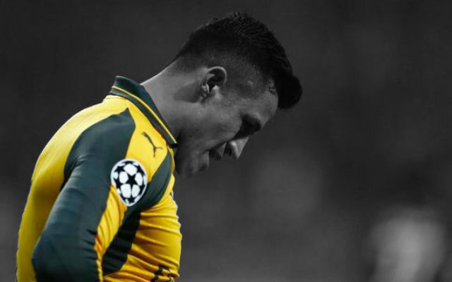 Arsenal will not accept cash offer for Alexis Sanchez
