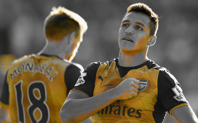 [Image] Alexis Sanchez sends message to Arsenal fans ahead of West Brom clash