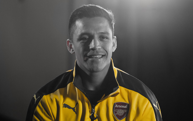 [Image] Arsenal's Alexis Sanchez hints at involvement v West Ham United