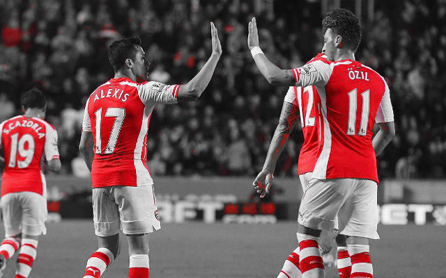 Club captain names three most creative players at Arsenal, Özil unsurprisingly top
