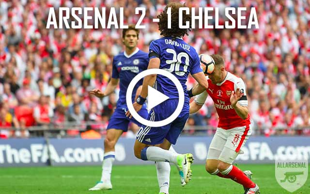 [FA Cup Final Highlights] All The Goals And Best Bits – Arsenal 2-1 Chelsea