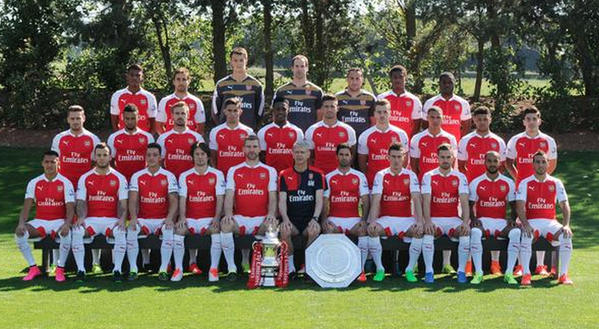 Arsenal squad photo