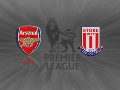 Arsenal 1 v Stoke 0: Gunners get hard-fought victory as substitute Podolski scores [Report & Video Highlights]