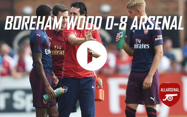 Boreham Wood 0-8 Arsenal – All The Goals From Emery's First Arsenal Match