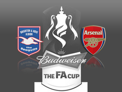 Arsenal draw Brighton in FA Cup