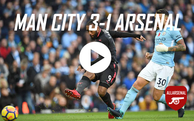 [Match Highlights] Manchester City 3-1 Arsenal – All The Goals And Highlights