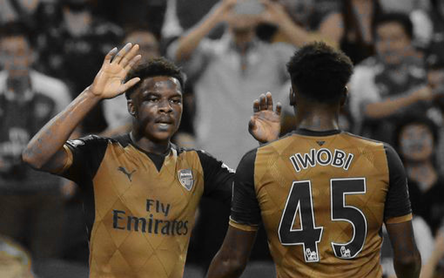 Akpom determined to follow Iwobi into Arsenal's first team