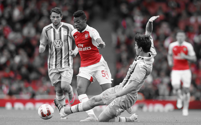 [Video] Arsenal starlet Reine-Adelaide produces magical skill in open training session