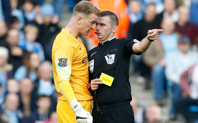 Joe Hart Michael Oliver