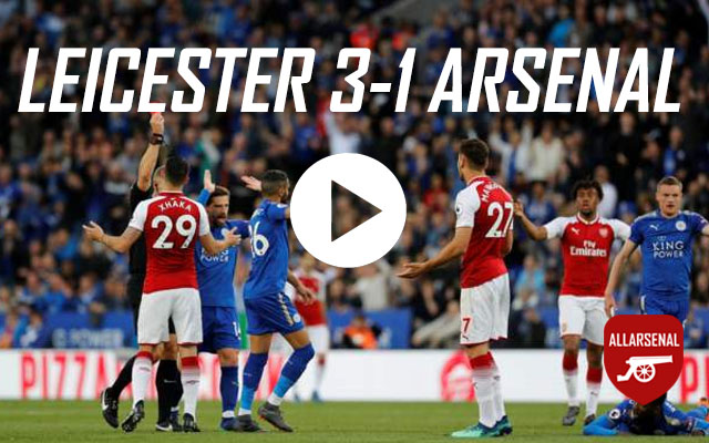 [Match Highlights] Leicester City 3-1 Arsenal – All The Goals And Highlights