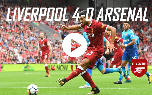[Match Highlights] Liverpool 4-0 Arsenal – All The Goals And Highlights