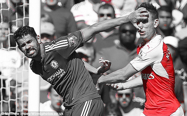'Diving' Costa branded 'a serial cheat' following Arsenal clash