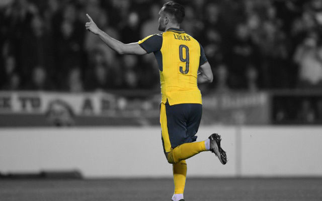 Lucas Perez: I'm Settled At Arsenal Now