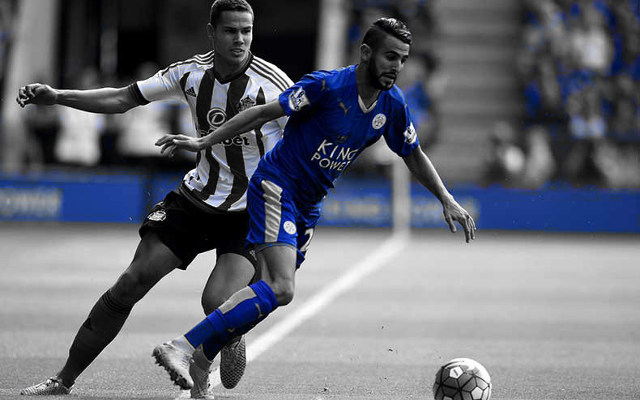 Wenger Gives Update On Riyad Mahrez Transfer