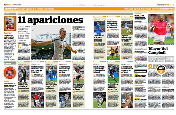 Marca young team of the season