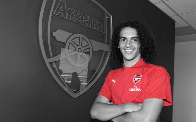 [Confirmed Lineups] Arsenal v Manchester City – Guendouzi Makes Premier League Debut