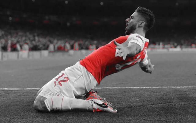 Giroud displaces Arsenal legend as third fastest player to 50 goals