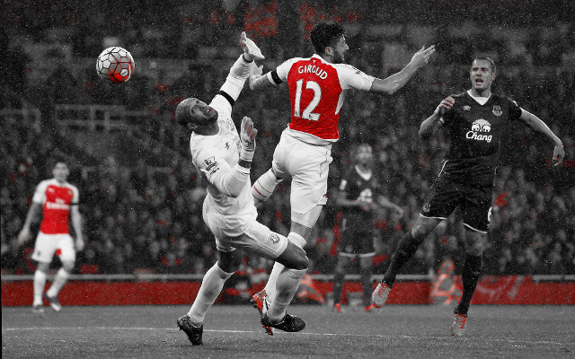 [Video highlights & match report] Arsenal 2-1 Everton – French connection as Giroud & Koscielny grab goals