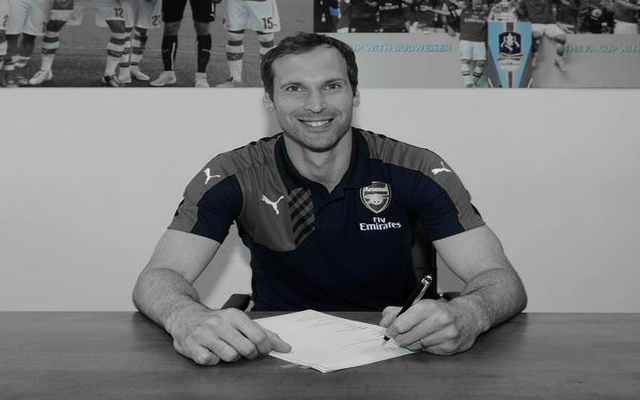 [Video] Arsenal new boy Petr Cech credits Arsene Wenger meeting as reason behind move