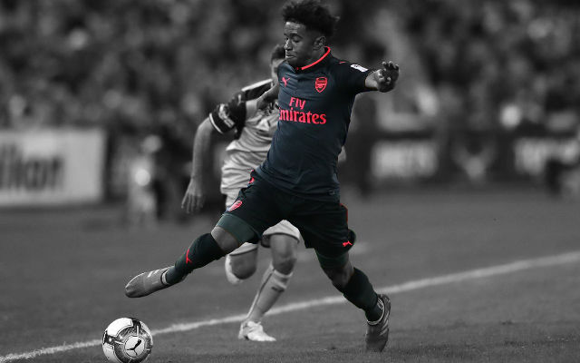 Lacazette Reveals What He Thinks Of Reiss Nelson