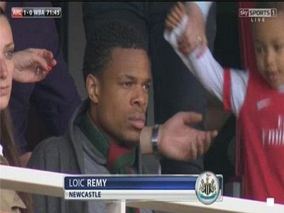 Arsenal agree personal terms with Loic Remy