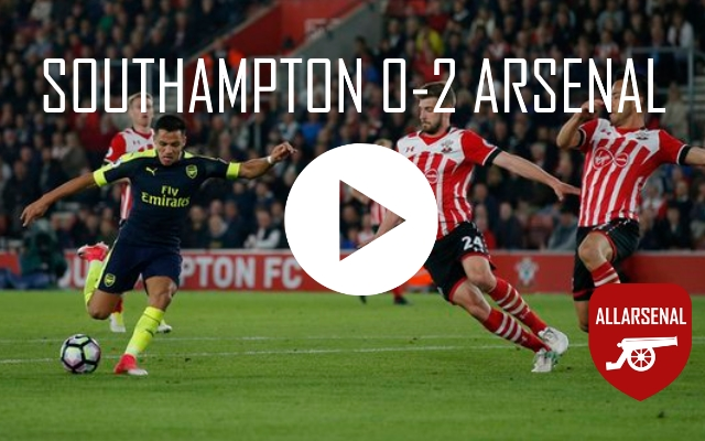 [Match Highlights] Southampton 0-2 Arsenal – All The Goals And Best Bits