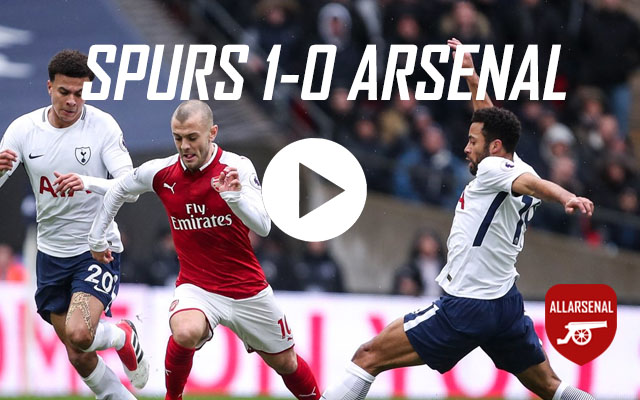 [Match Highlights] Spurs 1-0 Arsenal – All The Highlights & Best Bits