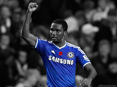 Arsenal linked with surprise move for Samuel Eto'o
