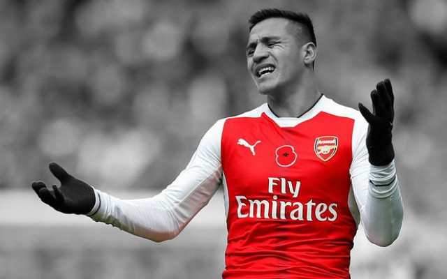 Manchester City Prepare £50m Raid For Alexis Sanchez