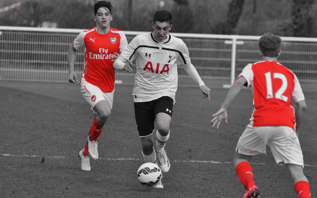 Arsenal's Greek youngsters – Ilias Chatzitheodoridis and Savvas Mourgos