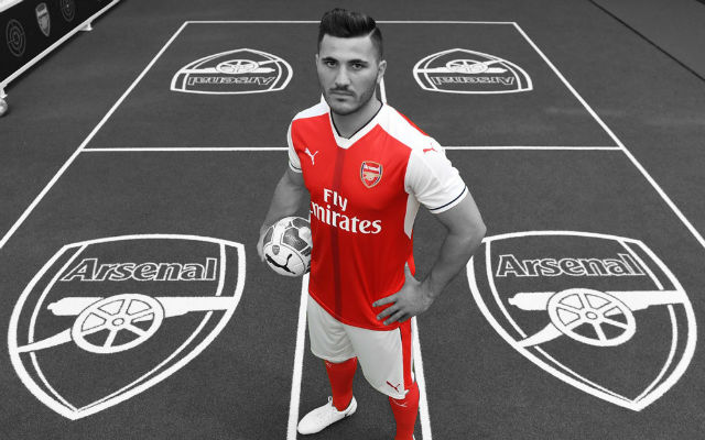Arsenal Reveal Sead Kolasinac's Squad Number