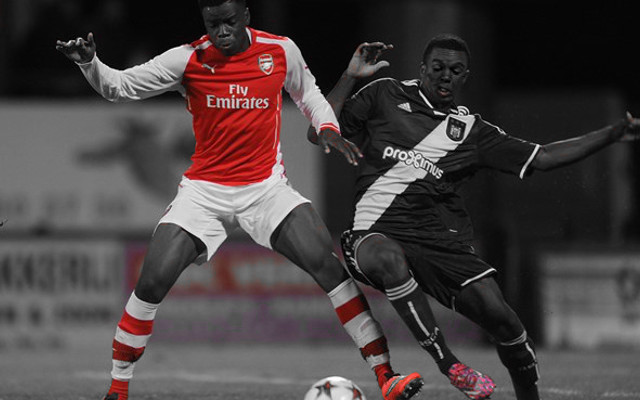 Arsenal youngster steps up in testing conditions
