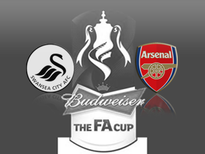 Swansea 2 v Arsenal 2: Gibbs' volley not enough for victory as Graham forces replay [Match Report & Video Highlights]
