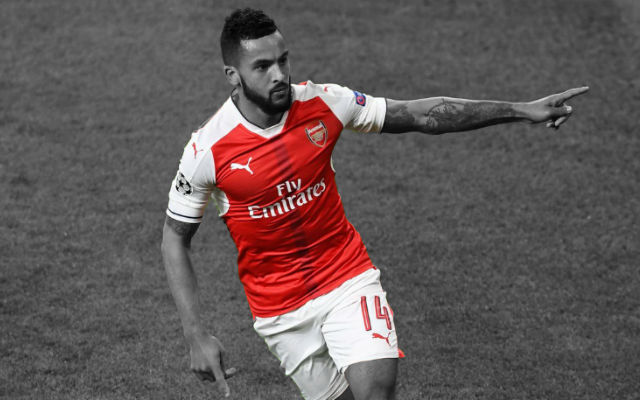 Walcott Could Captain England, Says Wenger
