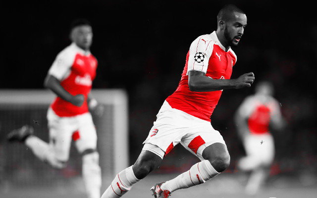Theo Walcott looks like the striker Arsenal have been crying out for