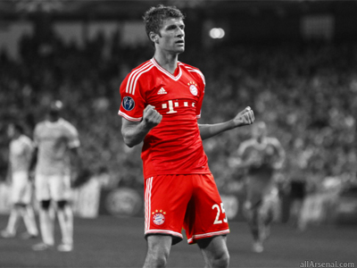 Arsenal join race to sign Thomas Muller
