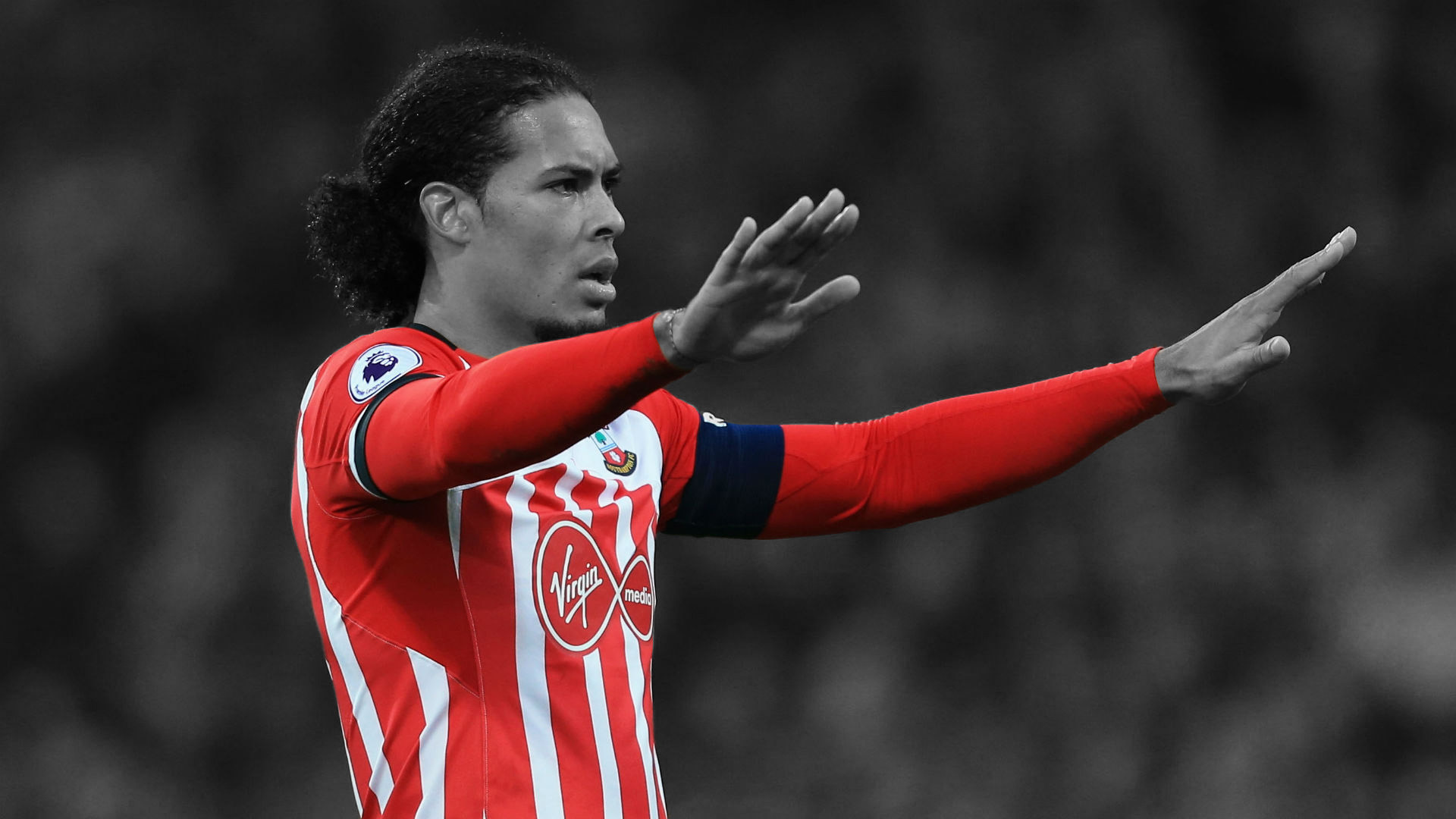 Arsenal Eyeing Van Dijk After Centre-Back Hands In Transfer Request