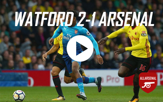 [Match Highlights] Watford 2-1 Arsenal – All The Goals And Best Bits